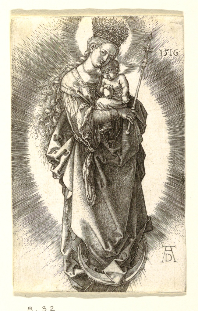 Print, The Virgin with the Crown of Stars