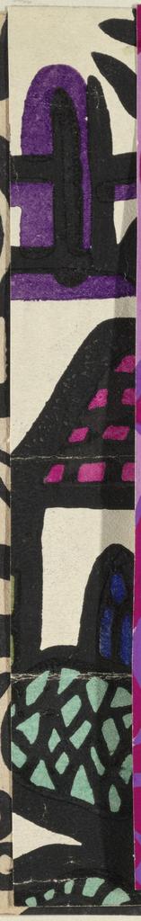 Drawing, Textile Design: Galizien (Galicia)