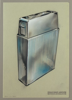Drawing, Diamond Cigarette Lighter