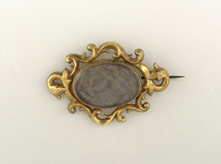 Brooch (USA), ca. 1850–60