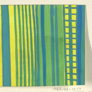 Drawing, Textile Design: Hyazinthe (Hyacinth)