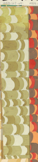 Drawing, Textile Design: Mont Blanc