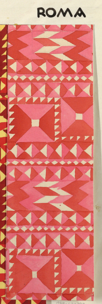 Drawing, Textile Design: Roma