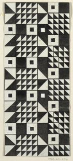 Drawing, Textile Design: Balaton