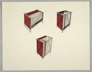 Drawing, Three Air Purifiers