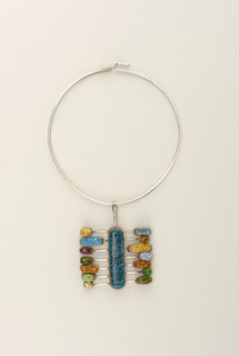 Abacus Necklace And Pendant