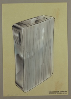 Drawing, Diamond Cigarette Lighter