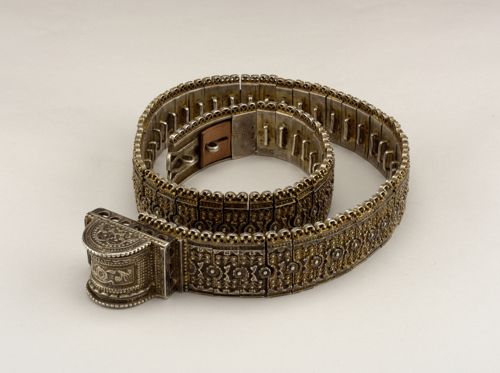 Belt (Russia), late 19th–early 20th century