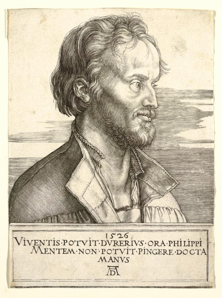 Print, Portrait of Philip Melancthon