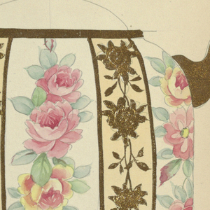 Drawing, Design for a Milk Pitcher