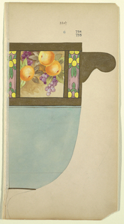 Drawing, Design for a Jar