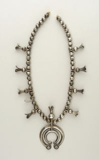 """Squash Blossom"" Necklace, late 19th–early 20th century"