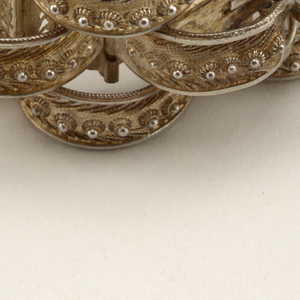 Bracelet, Comb And Earrings (possbily Italy), ca. 1875