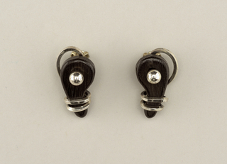 Earrings, ca. 1950–60