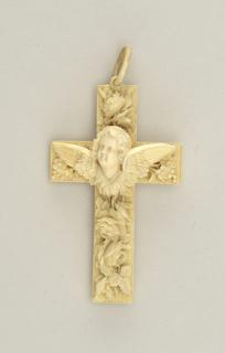 Pendant ivory cross Cross, 19th century