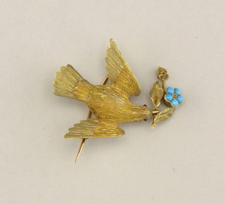 Bird brooch Brooch, ca. 1850