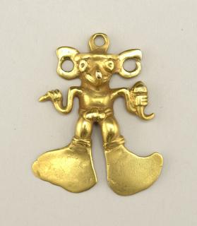 Pre-Columbian pendant.