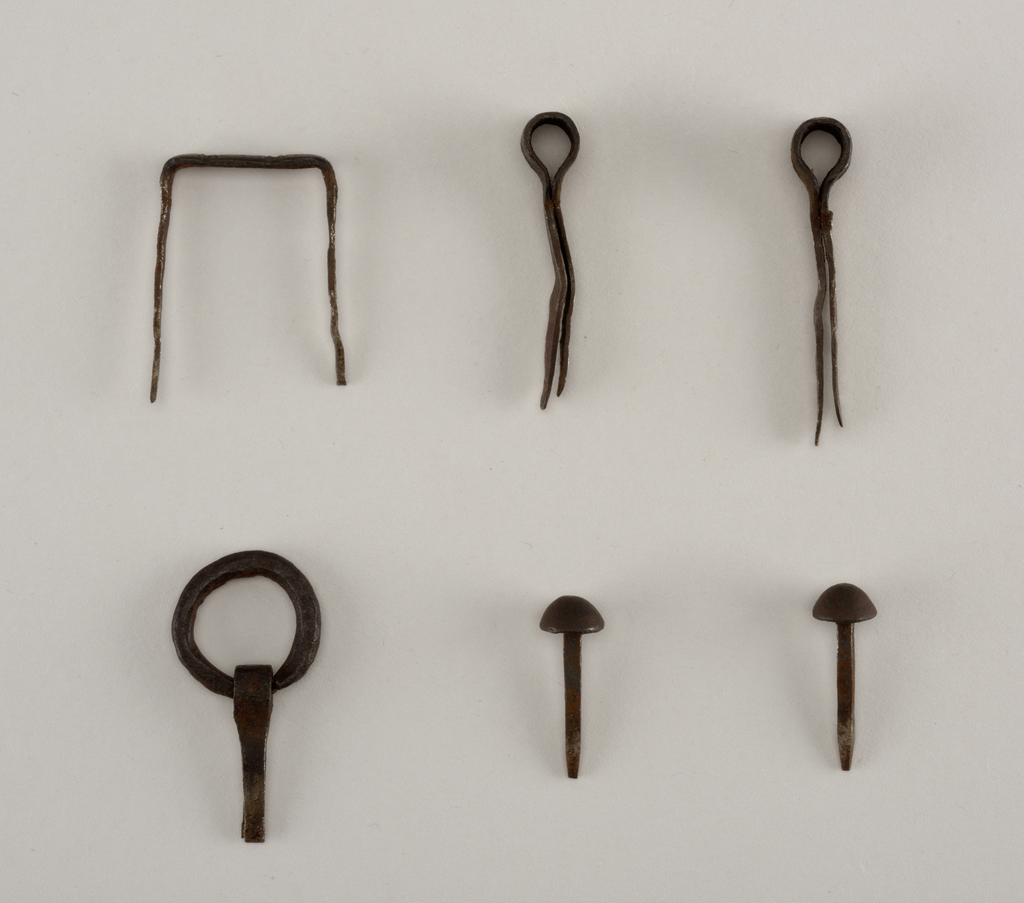 Lock with six nails