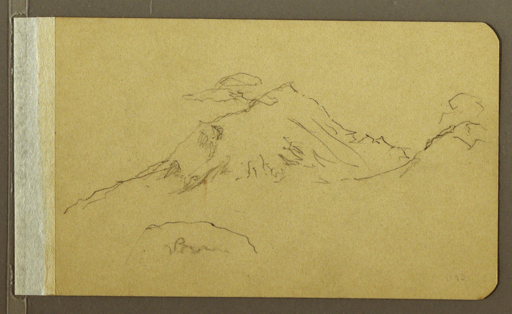 Drawing, Mountain Landscape, 1893