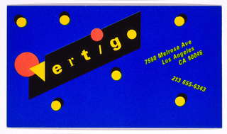 Business Card, Vertigo