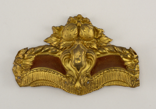Curtain Loop Ornament Or Valance Mount (USA), ca. 1830–50