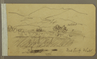 Drawing, Landscape, 1892–93