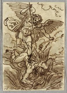 Drawing, Archangel Michael, 1813–18