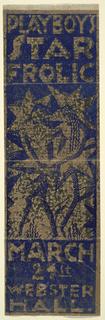 Print, Playboy's Star Frolic, Webster Hall, New York, NY