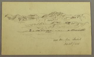 Verso: Mountain Range