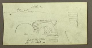 Verso: Inscription