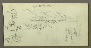 Verso: Mountainside