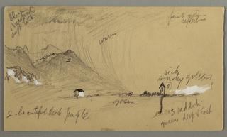 Verso: Sky over Trees, Austria or Bavaria