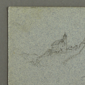 Drawing, Tauern Peaks, The K nigss, July 1868