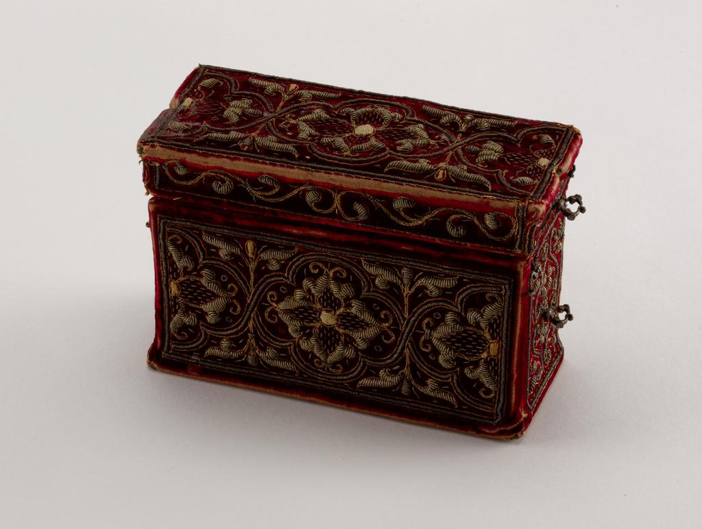 The \u201c Little Red \u201c Coffin Trinket Box with Hinge