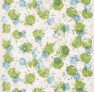 Textile, Chrysanthemum