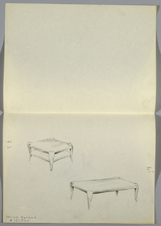 Drawing, One drawing of 2 side tab