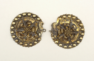 Clasp And Buckle (Sweden), 19th century