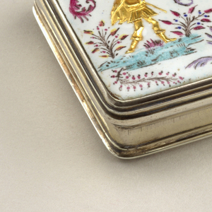 Box With Spoon, ca. 1735
