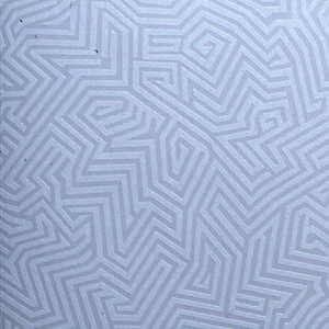 All-over pattern of gray maze-like design on gray.