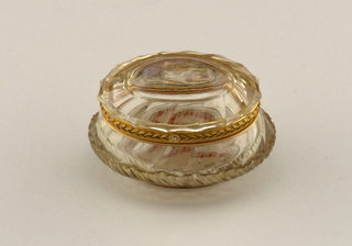 Rock crystal box Box, 18th century
