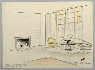 "Drawing, Master Bedroom; ""Exposure"