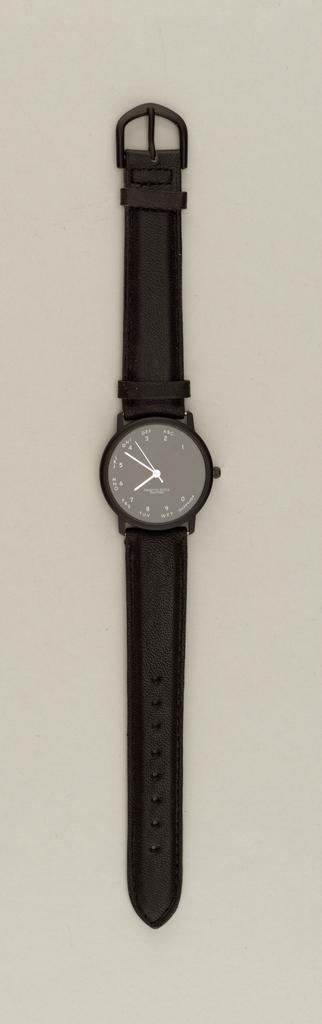 Rotary Dial Wristwatch, 1988