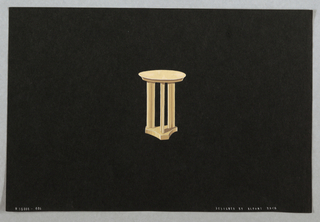 Drawing, 406. Occasional table