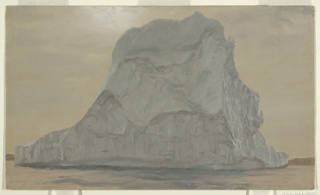 Drawing, Gray Iceberg