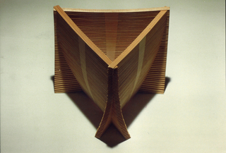Slatted Vessels, 1991