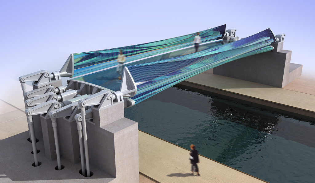 Glass Bridge (not Yet Realized), 2003