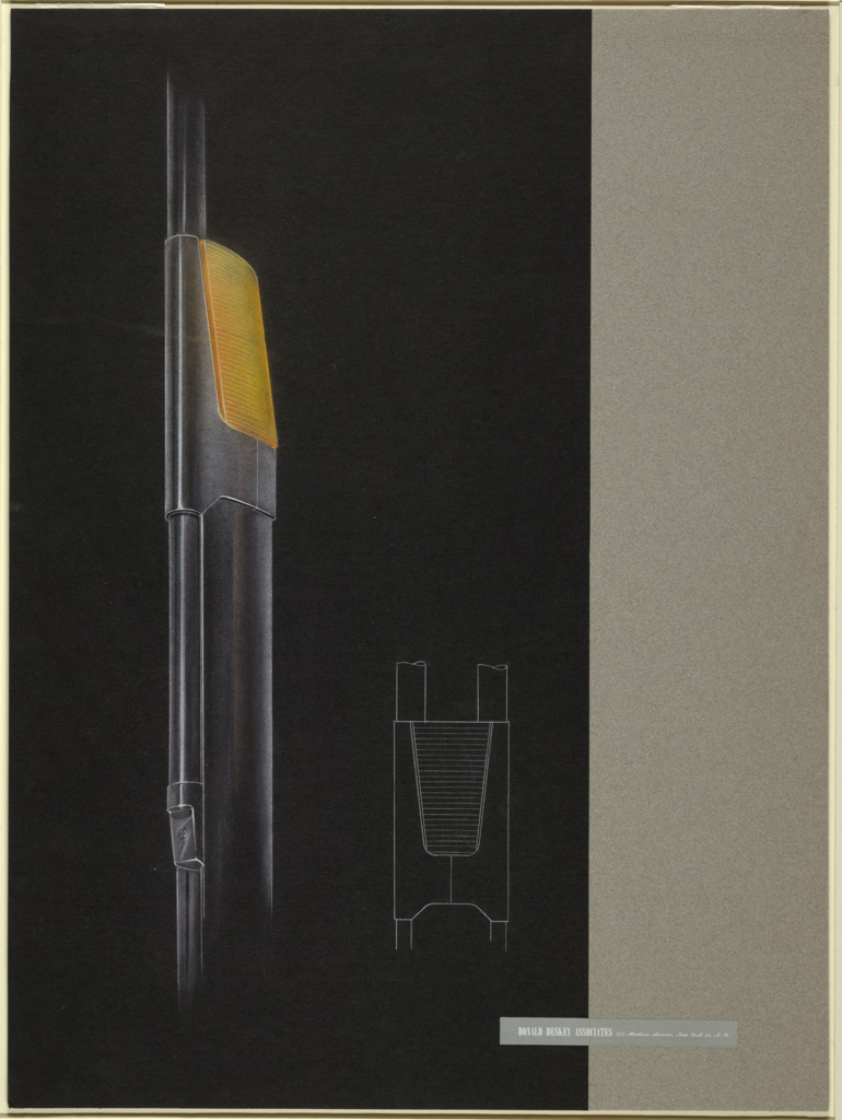 Drawing, Design for New York City Streelight Pole
