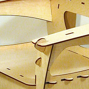 Puzzle series Armchair, 1991