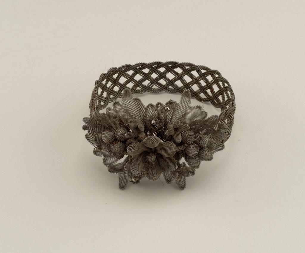 Steel-wire bracelet Bracelet, ca. 1830