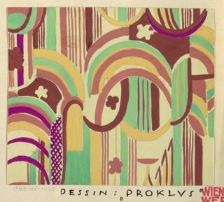 Drawing, Textile Design: Proklus